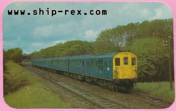 British Railways Southern Region, Charing Cross to Hastings Train - postcard